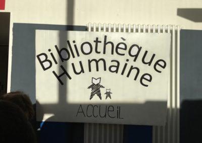 La Bibliothèque Humaine aux rencontres du papier et du livre à JOB